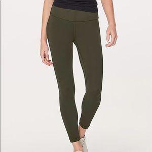 Align pant dark olive 4 like new